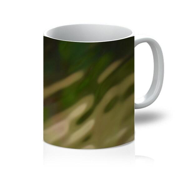 Green Camo Design 11oz Mug