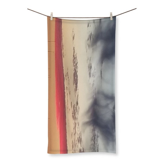 Red Sky at Night Sublimation All Over Towel