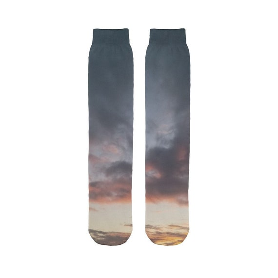 Sunset over the Coast Sublimation Tube Sock