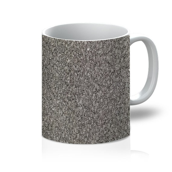 Black Wool Texture Image 11oz Mug