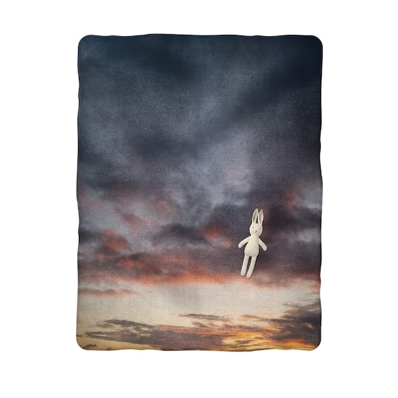 Sunset over the Coast Sublimation Baby Blanket