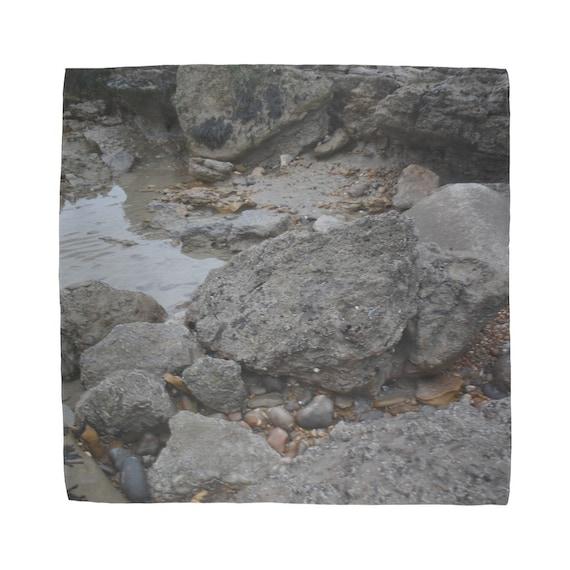 Rocks and Rock Pools Sublimation Bandana