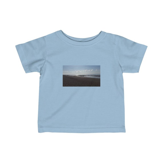 Beach at Sunset Infant Fine Jersey Tee