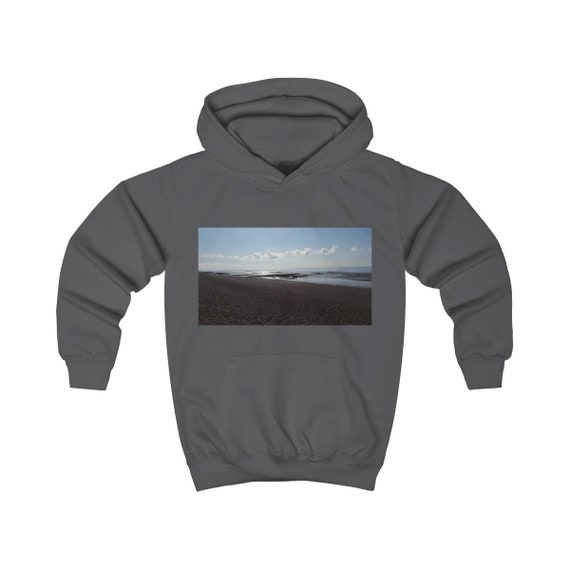 Beach at Sunset Kids Hoodie
