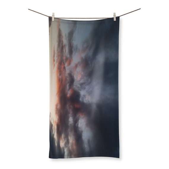 Sunset over the Coast Sublimation All Over Towel
