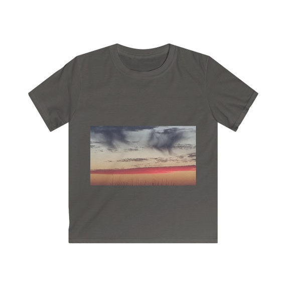 Red Sky at Night Kids Softstyle Tee