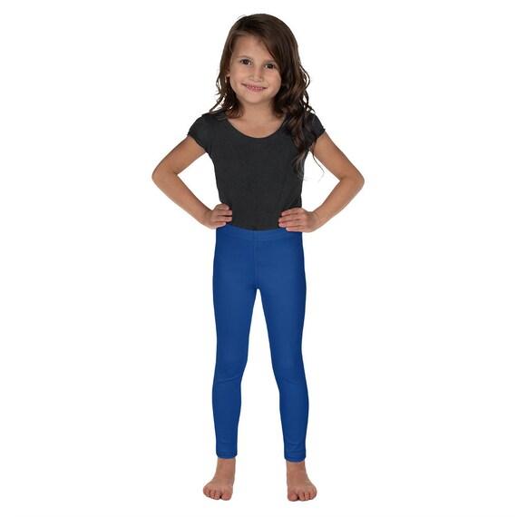 Blue Kid's Leggings