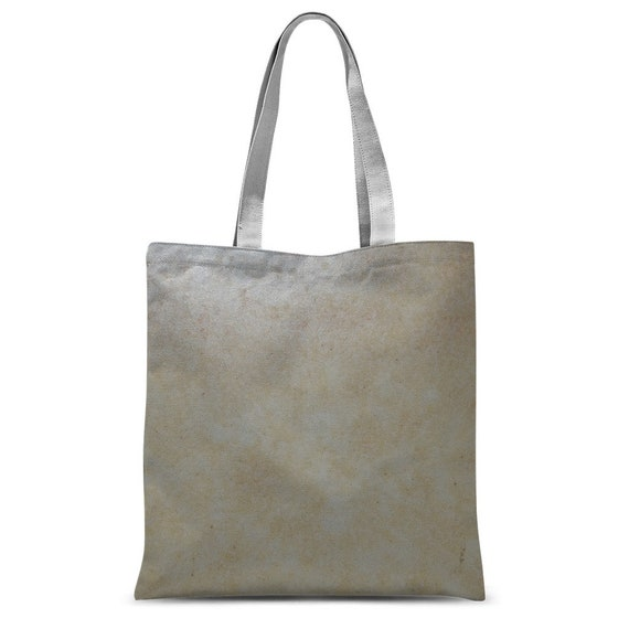 Yellow Marble Design Classic Sublimation Tote Bag