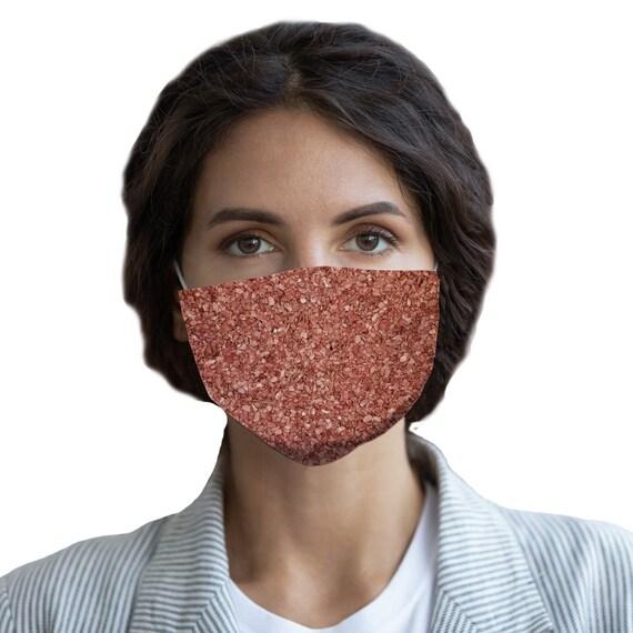 Gravel Texture Design Sublimation Face Mask