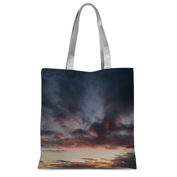 Sunset over the Coast Classic Sublimation Tote Bag