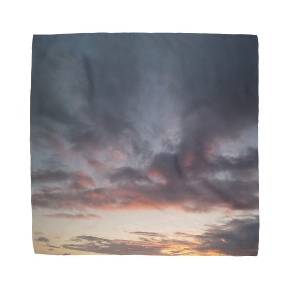Sunset over the Coast Sublimation Bandana