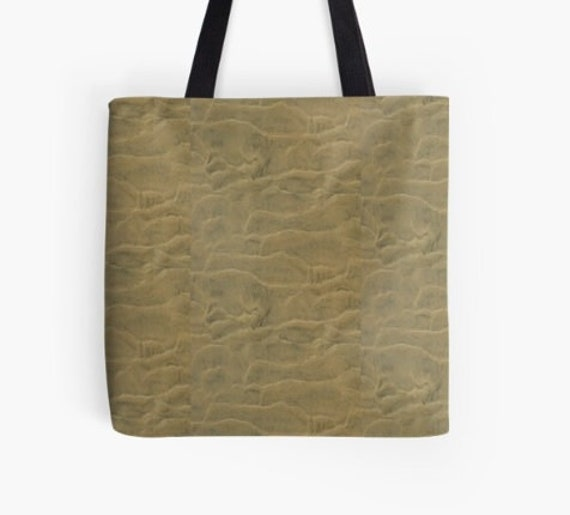 Tote Bag Sandy Beach design double sided lined