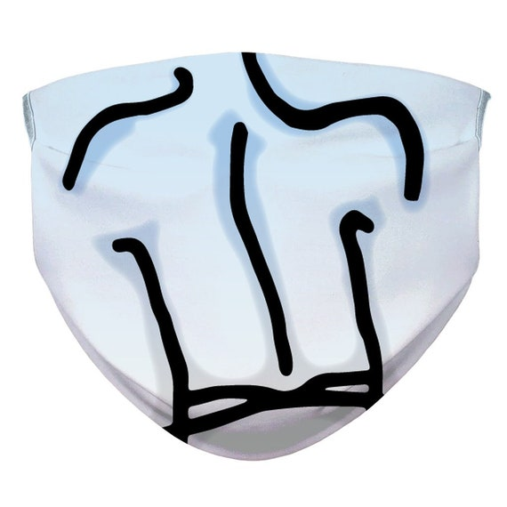 Branding Logo Sublimation Face Mask (Customise your own)