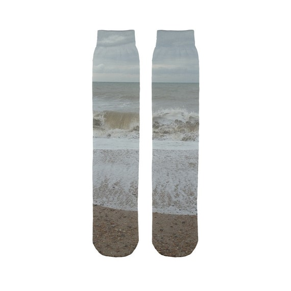 Raging Waves Sublimation Tube Sock