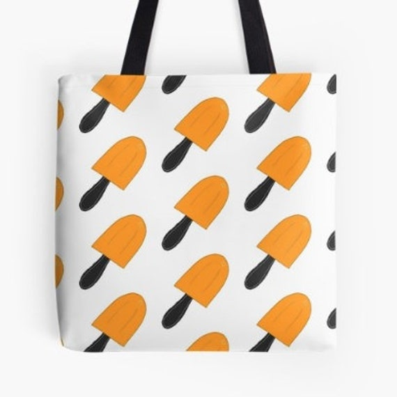 Tote Bag Abstract Lolly pops design double sided lined
