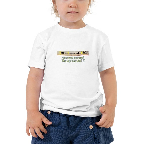 Just Inspired Kids Toddler Short Sleeve Tee