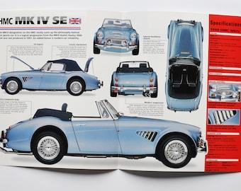 car photo stat info specs brochure parts ad old vintage print sport motor hertfordshire auto 7 1957-1960 Spec Sheet Lotus Seven Series 1