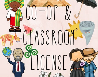Co-Op & Classroom License for ONE Listing