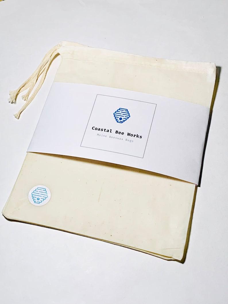 Reusable Beeswax Produce Bag-Plastic Free-Zero Waste-Set of Three