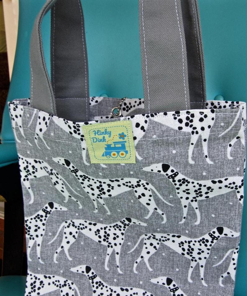 Dalmatian Print Kids Tablet Tote