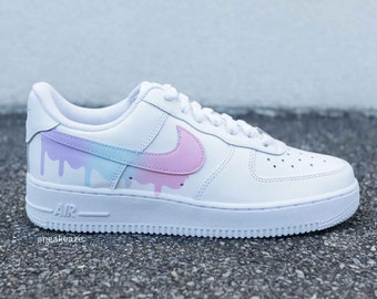 Nike air force 1 pink | Etsy
