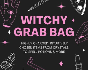 Witchy Starter Kit   Witchy Grab Bag   Witch Kit   Witch Tools   Altar Tools   Beginner Witch Kits   Mystery Witch Kit   Intuitive Witch Set