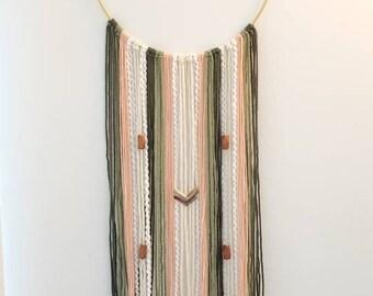 Handmade Boho Chic Wall Hanging