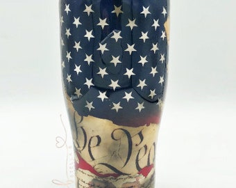 We The People Tumbler | Patriotic Personalized Cup | America