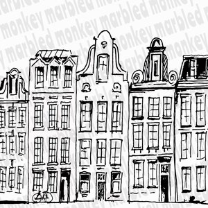 Printable Architecture Coloring Page Frankfurt Germany Etsy