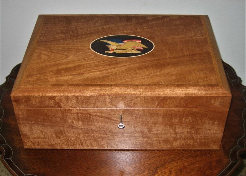 Premium Federal Eagle Humidor image 0