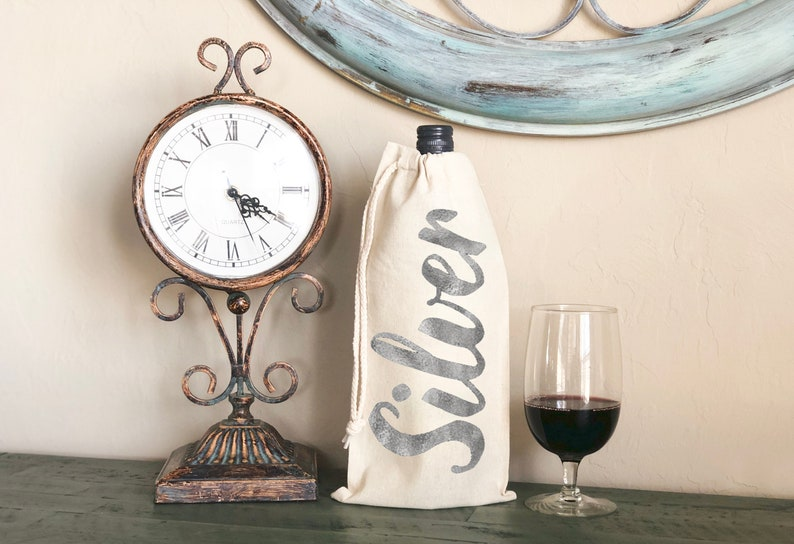 Wine carrier Personalized Gifts Hostess Gifts Housewarming gift Canvas Wine bags Favor Bags Thank you gift Wine lovers gift