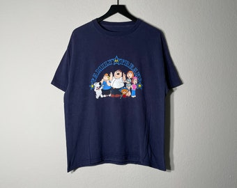 Vintage 90s GODZILLA Adventure Horror Animations Movie Promo Rare Promo T Shirt