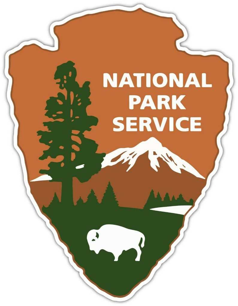 National Park Service Logo Emblem Vinyl Sticker Decal Car image 0