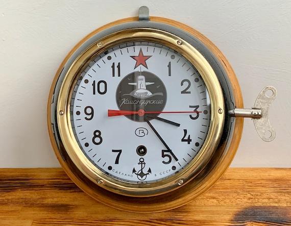HANDS FOR USSR RUSSIAN SOVIET SUBMARINE NAVY MARINE SHIP WALL CLOCK NEW!!