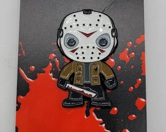 1.5 Inch Horror Jason Voorhees Funko Pop Character Pin