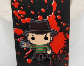 1.5 Inch Horror Freddy Krueger Funko Pop Character Pin