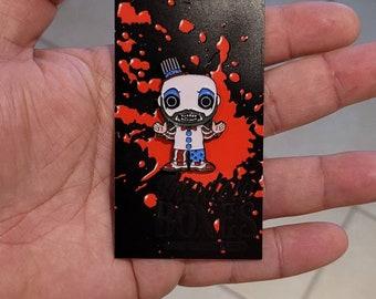 1.5 Inch Horror Captain Spaulding Funko Pop Character Pin