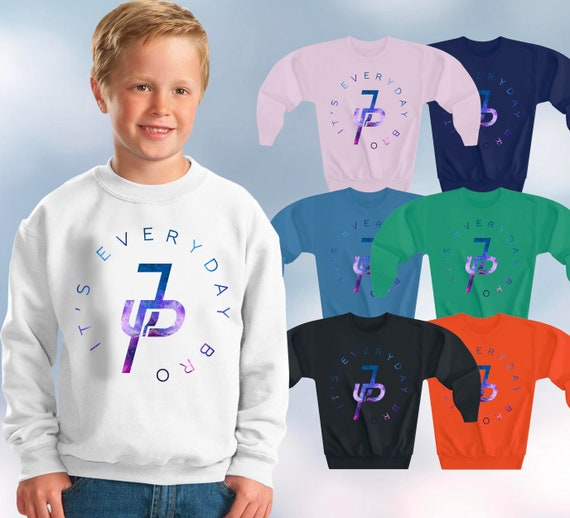 Jpauler Jake Paul Its Everyday Bro Kids T-Shirt Girls Boys Youtuber Top Tshirt
