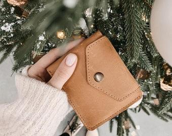 Mini wallet for women, Pocket Wallet Women, Small Wallet Leather, Ladies Wallet, Minimalist wallet, Leather Wallet Purse, Bifold wallet
