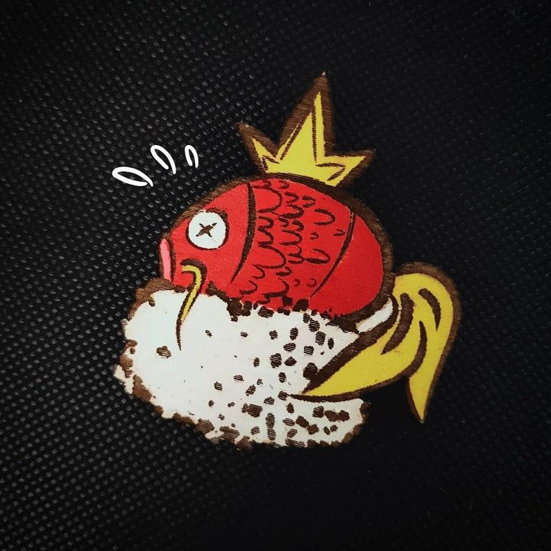 Pok\u00e9mon Broche sushi Magicarpe