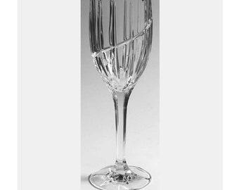 "MIKASA CRYSTAL VIEWPOINT SATIN WHITE WINE STEM 8 7//8/"""