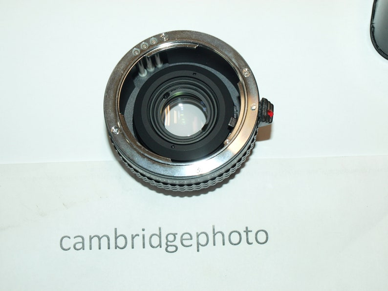 NEW 2.7X teleconverter extender lens outfit for Praktica bayonet mount cameras with macro extension tube by Hanimax