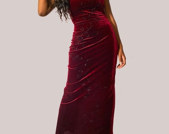 Cowl Neck Dress Bridesmaid Dress 80s Dress Black Velvet Dress Mother of The Bride Vintage Dress Size 0 80s Prom Dress 80s Costume