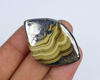 66 cts Top Quality Schalenblende Cabochon Schalenblende Gemstone,Natural Schalenblende,41x25x6 MM