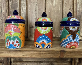 Mexican Canisters Etsy