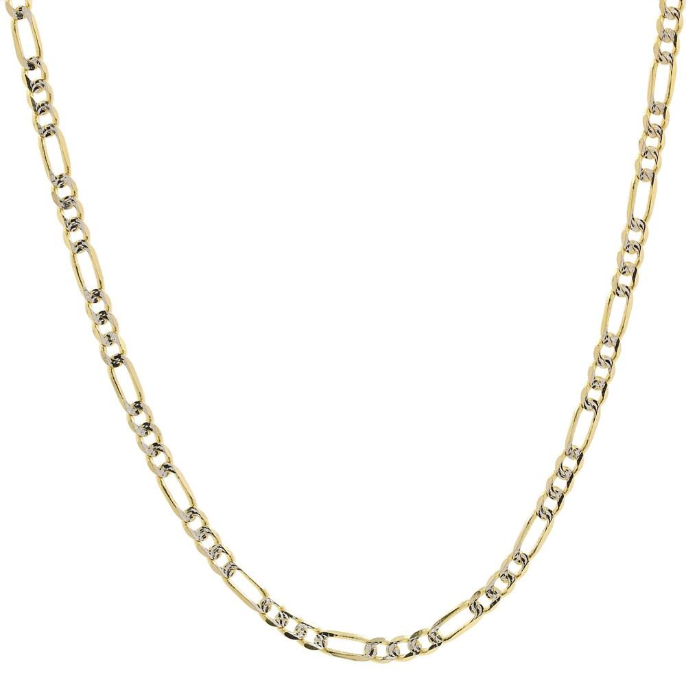 14K White Gold 4.25mm Cubic Zirconia Pendant
