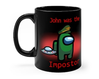 Among Us Personalized Customized Name Mug Make Your Own Imposter Crewmate Gift