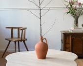Vintage Ceramic Vessel in Terracotta