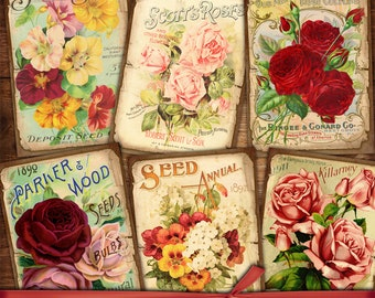 Rice Paper for Decoupage Scrapbook and Craft Girl Vintage 586