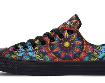 Mandala shoes | Etsy